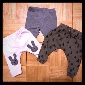 Unisex baby clothes lot -Zara, Pact, Petit Bateau